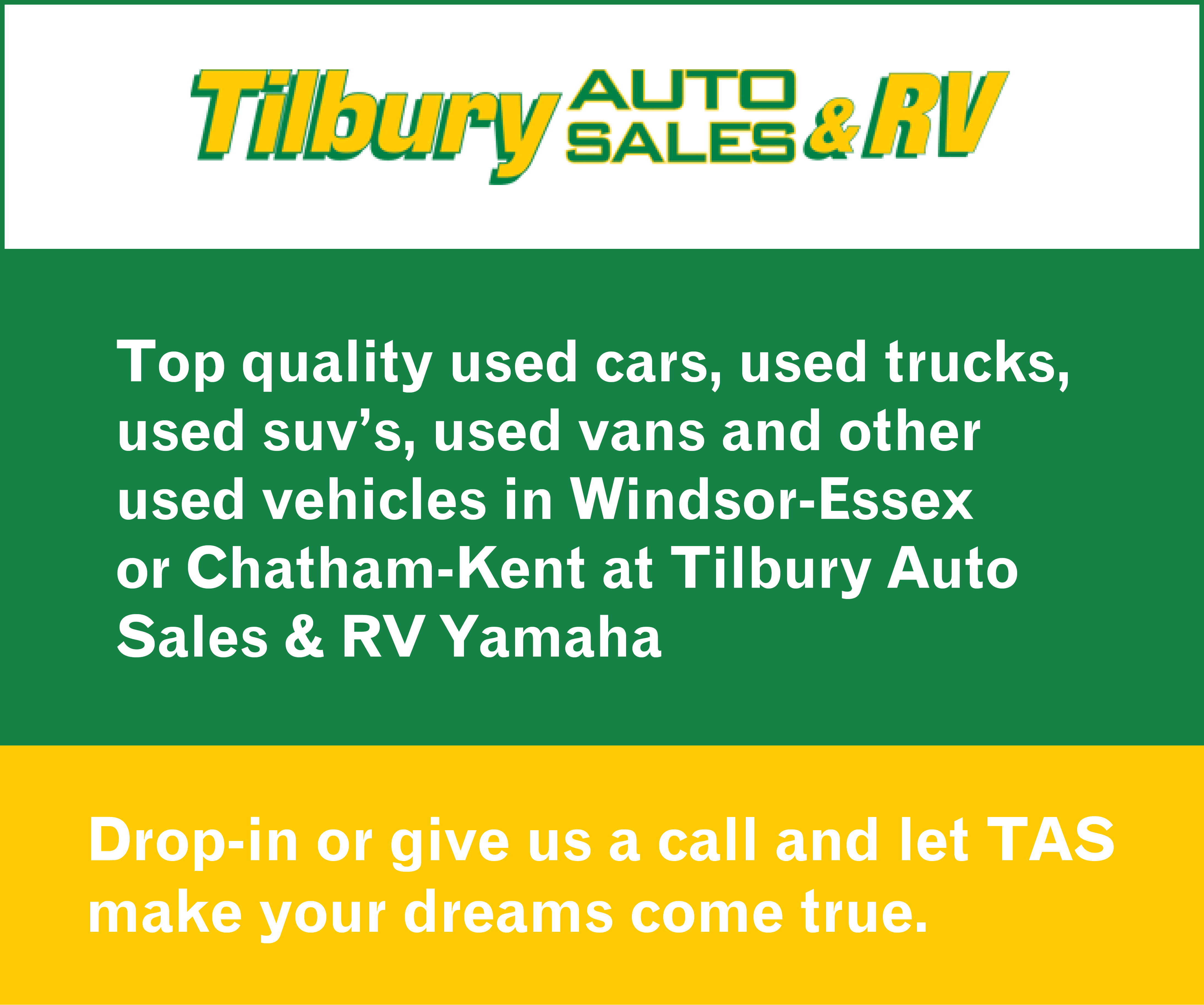 More from Tilbury Auto Sales & RV